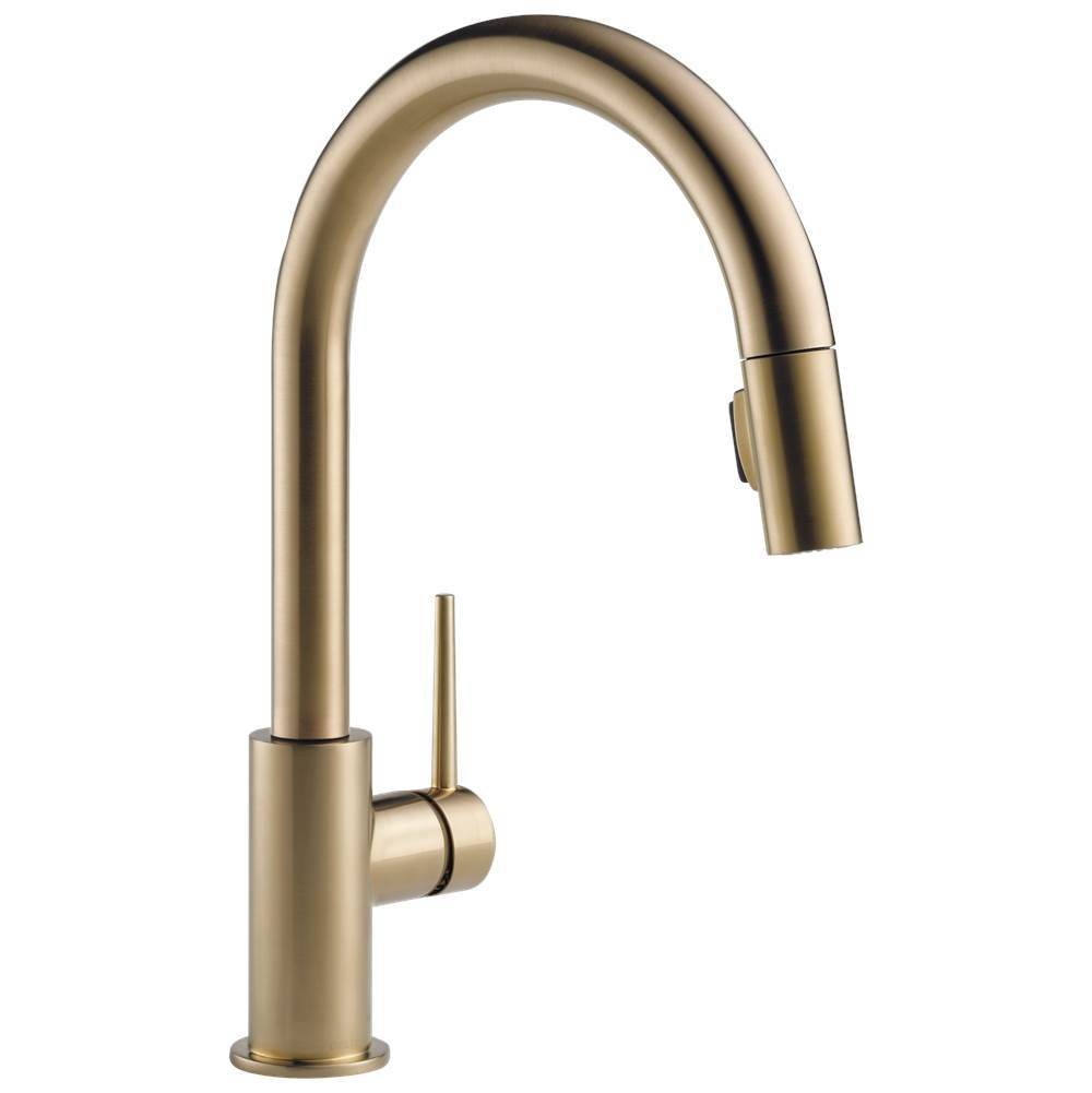 faucet depot champagne home czmpu widespread handle arc in high metal pin trinsic the delta with drain bathroom assembly bronze dst